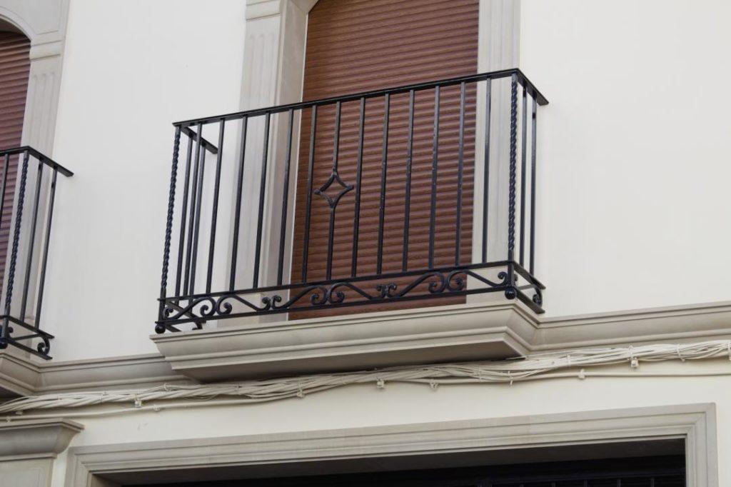 rejas y balcones de forja