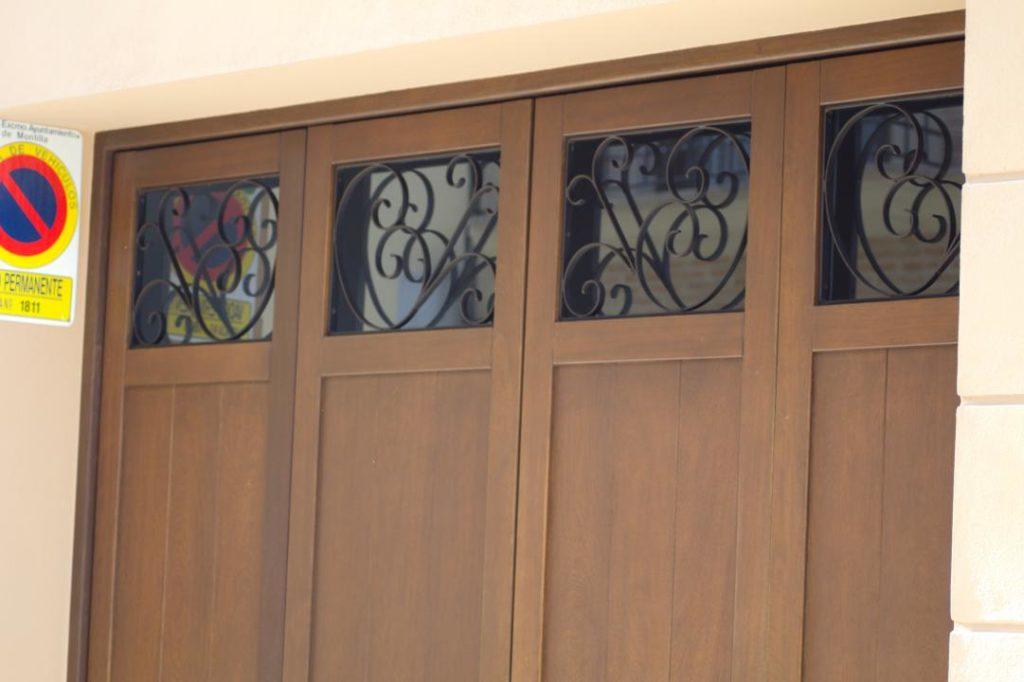 puertas y cancelas de forja